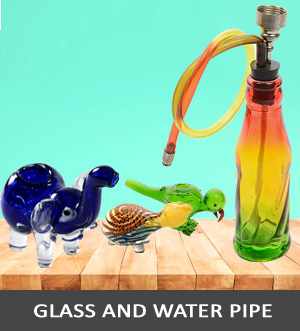 Glass and Water Pipe